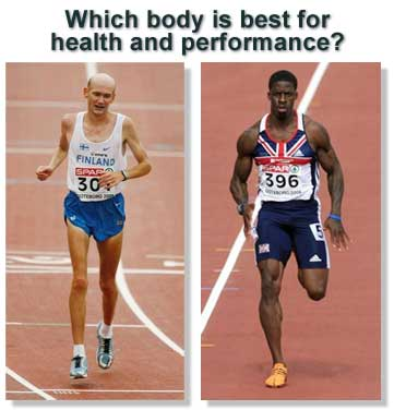 Sprinter vs marathoner